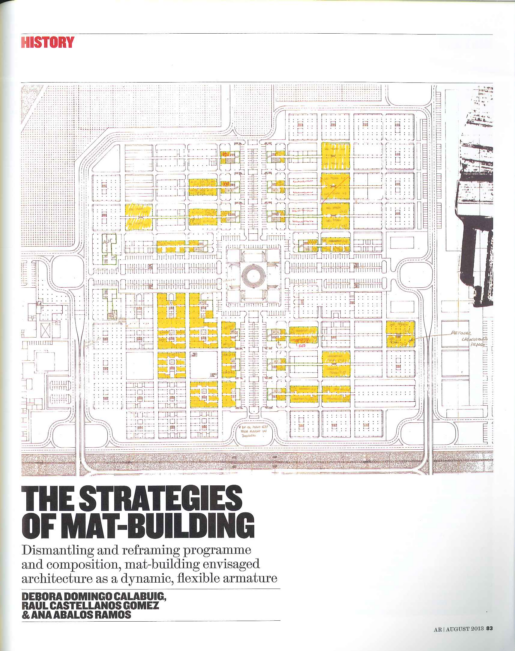 The Strategies of Mat-building AR - Debora Domingo Calabuig